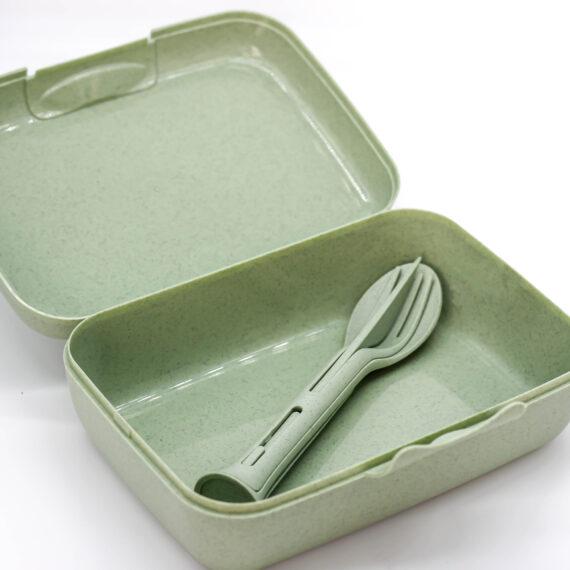 Boîte lunch avec couverts 2