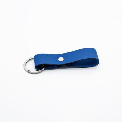 Porte-clef en cuir régénéré