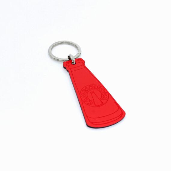 Porte-clef en cuir régénéré 2